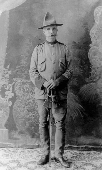 General Coppinger during the Spanish-American War, 1898 (National Archives)