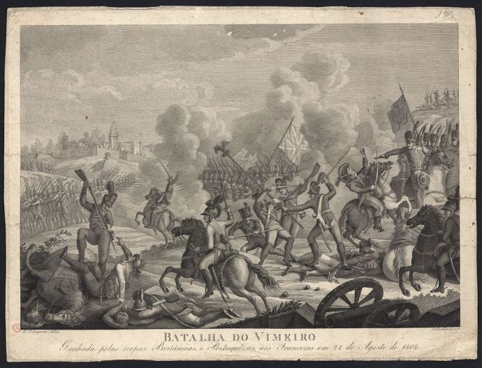 The Battle of Vimeiro (Wikipedia)