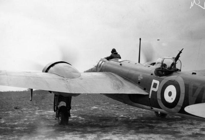 A Blenheim of 110 Squadron in August 1940 © IWM (HU 104641)