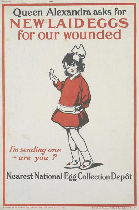 WW1 Poster for the National Egg Collection (Copyright Imperial War Museum)