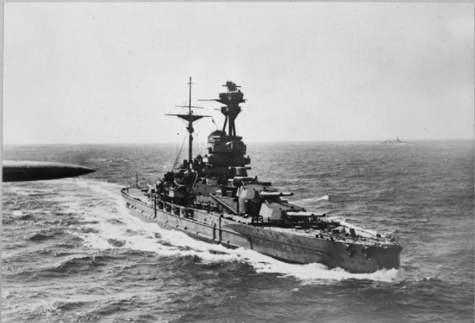 Patrick's ship, HMS Revenge (Wikipedia)