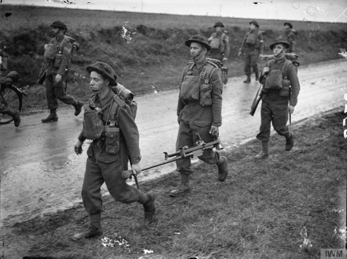 Royal Irish Fusiliers in France, 1939 © IWM (O 758)