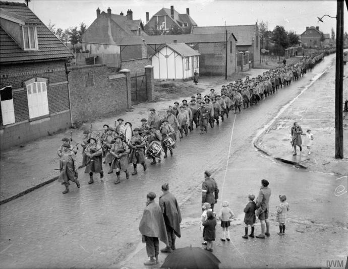 The 1st Royal Irish Fusiliers in France, 1940 © IWM (O 159)