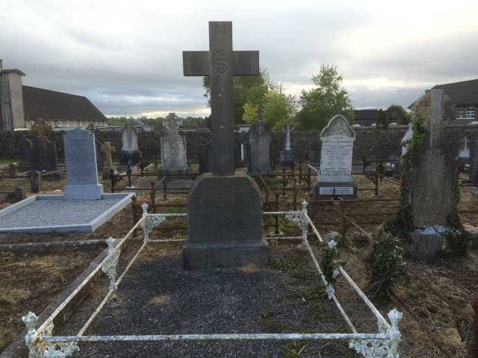 The grave of Ambrose Augustine Haley in Midleton (Damian Shiels)