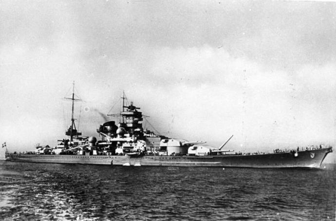 The Scharnhorst (German Federal Archives)