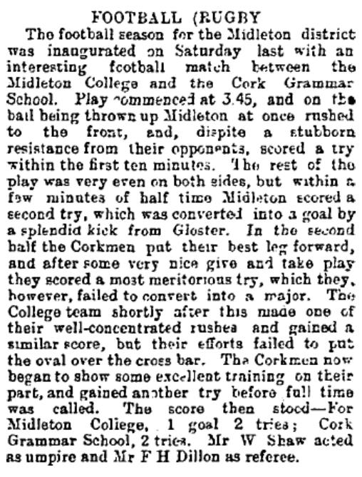19 October 1892 (Irish Examiner)