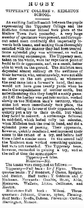 29 November 1895 (Irish Examiner)