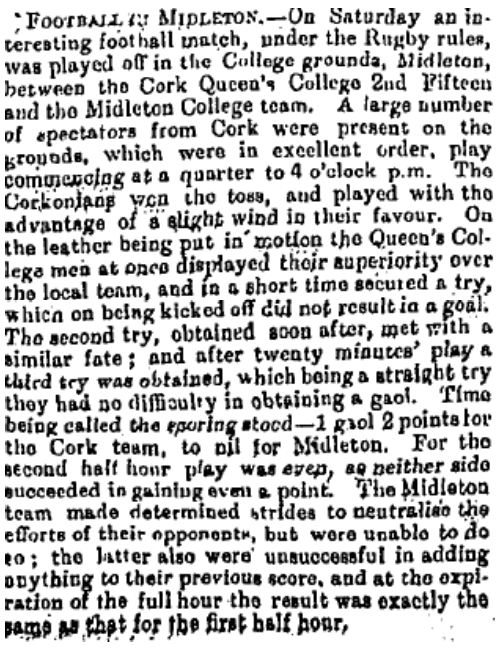9 April 1889 (Irish Examiner)