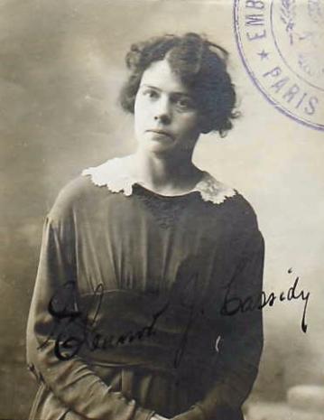Eleanor Cassidy (NARA/Ancestry)
