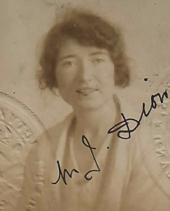 Margaret Josephine Dion (NARA/Ancestry)