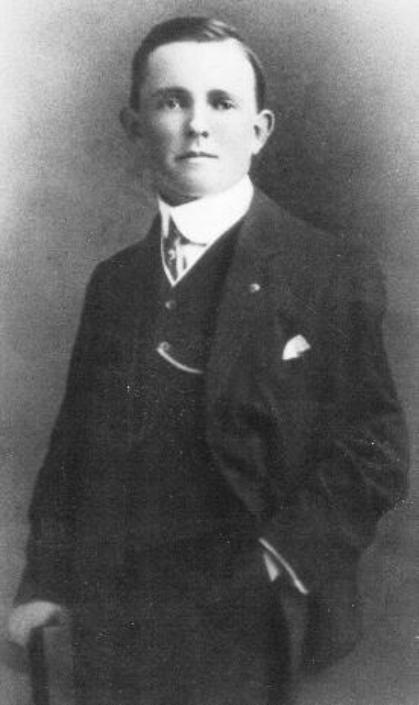Daniel Buckley, survivor of the sinking of the Titanic, who was killed in action as an American Doughboy in World War One (Image via Wikipedia)